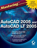 Mastering AutoCAD 2005 Book - Paperback: 1200 pages, Publisher: Sybex (June 11, 2004), Language: English, Product Dimensions: 9 x 7.3 x 2.8 inches