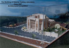 Architectural Model of Material Testing Laboratory-01