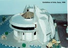 Architectural Model of Exhibition of Arts-03