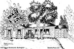 Architectural Sketch: 918 Falcon Boulevard, Burlington