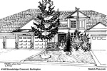 Architectural Sketch: 4148 Stonebridge Crescent, Burlington