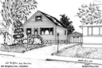 House Sketches: 661 Brighton Ave., Hamilton