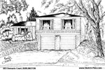 House Sketch of 683 Demaris Court, BURLINGTON