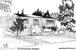 House Sketch of 3421 Rexway Drive, Burlington