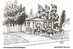 House Sketches: 1449 Innswood Drive, Burlington