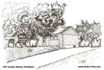 House Sketches: 892 Tanager Avenue, Burlington