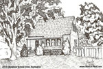 Sketch of House: 2223 Glenwood School Drive, Burlington